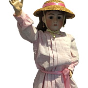 "32"" Darling Handwerck/Simon Halbig Doll"
