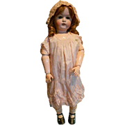 "Fabulous JDK 214 Bisque Doll 30"" Tall"