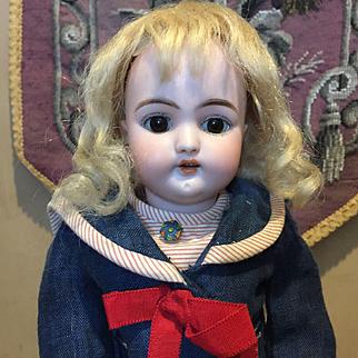 "Antique Cabinet Size 12"" S&H 1079 Bisque Doll"