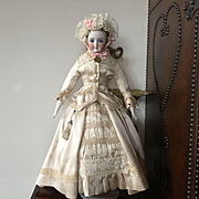 Fantastic Simon Halbig German Fashion Doll in Gorgeous Outfit!!