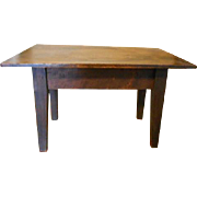 Antique Wooden Doll Table