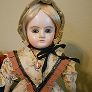 "Sweet 18"" Antique Paper Mache Doll"