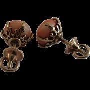 14k Angel Skin Earrings
