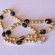 18k Sapphire Bracelet