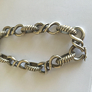Vintage French Tiffany Sterling Bracelet