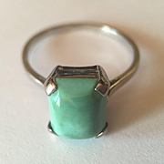 Platinum Persian Turquoise RIng
