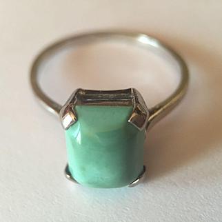 Platinum Persian Turquoise RIng