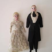 Evelyn Ackerman estate, Fine all-original Dollhouse Dolls