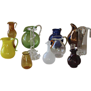 Blown and Art Glass Collection – Mostly Vintage Pitchers