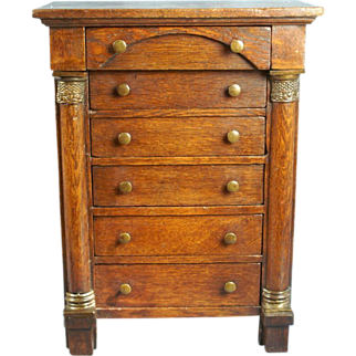 Mid 19th Century Walnut Chest of Drawers for Fashion or Bébé
