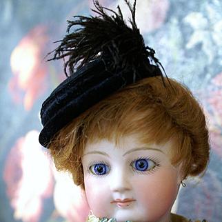 "Exquisite Rare Cruchet Wood Body Fashion ~17.2"""