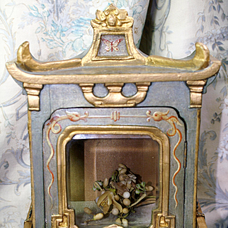 Antique Gilded French Chinoiserie Sedan