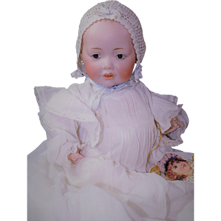 "Precious 10"" Kestner Hilda Baby Domed Head"