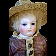 Enfantine Poupee w/ rare Herbillon Wood Body