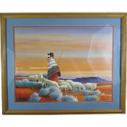 """Navajo Shepherds"" Artist Signed and Numbered print by Donal C Jolley"