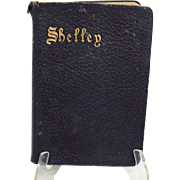 Shelley's Poetical Works;  1905, Oxford Edition