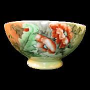 Orange Poppy Bowl