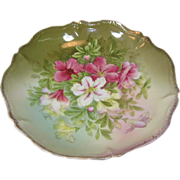 Tirschenreuth Flowered Serving Bowl