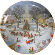 Vintage Danbury Mint Collectable Christmas Plate