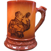 Westmoreland Rookwood Brown Decorated Stein