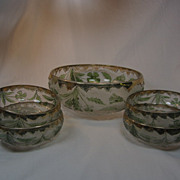 """Delaware"" Berry Bowl set"