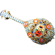 Micro Mosaic Mandolin or Lute
