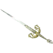 """Letter Opener from the movie """"El Cid"""" with Sophia Loren and Charlton Heston"""