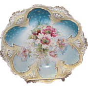 """R.S.Prussia Steeple Dome Bowl 10 1/2"""""""