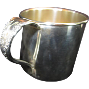 """Rogers """"Enchantment"""" Silverplate Child's Cup"""