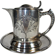 Silverplate Syrup Pitcher from Van Bergh