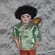 Antique Doll Simon Halbig 1039 Bisque Doll Dressed in Costume