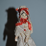 Old Doll Wood Grodenertal Jointed