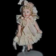Vintage Doll Artist Doll Cathy Hansen Miniature Dollhouse