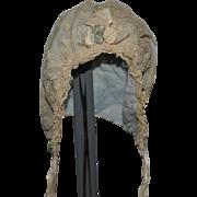 Antique Doll Lace Hat Bonnet Sweet