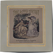 Wonderful Doll THE LADY ARTIST Boxed Set French Fashion Vignette Artist Kathleen Crescuillo 2 of 4