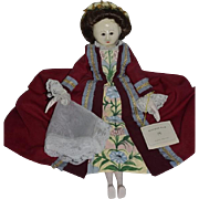 Wonderful Doll Artist Doll Strong Museum Original Tag Clothes