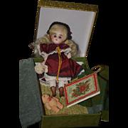 Wonderful Doll Artist UFDC Darlene Lane Miniature Bisque in Original Box