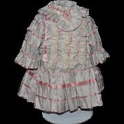 Wonderful Doll Dress Fancy For French Doll
