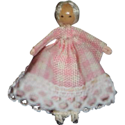Artist Miniature Doll TINY Dollhouse Toy For Doll