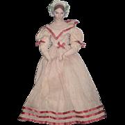 Vintage WONDERFUL Artist Doll Fancy Bonnet GORGEOUS Stunning