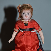 Antique Doll Miniature Glass Eyes Very Different Dollhouse
