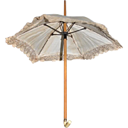 Old Miniature Parasol Umbrella Doll Size Sweet