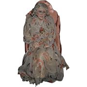 Wonderful Old Lady In Chair Sculpture Wonderful Artist Doll