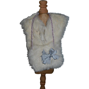 WONDERFUL Fur Stole and Fur Muff For Fashion Doll Gorgeous
