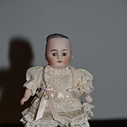 Antique Doll Bisque Miniature All Bisque Jointed Dollhouse # 203