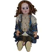 """Antique Doll Huge French Bisque BeBe RABERY & DELPHIEU RD Closed Mouth 28"""" Tall"""