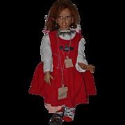 "Wonderful Artist Doll Martha Pineiro Large Signed GORGEOUS 29"" Tall"