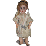 "Antique Doll French BeBe Size 0 Bisque Petite Size 10"" Tall"