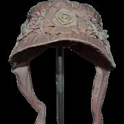 Wonderful Artist Doll Hat Bonnet Fancy Flowers and Bows