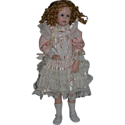 """Wonderful Artist Doll Wax GORGEOUS Linda Murray Signed Dated Numbered 30"""" Tall"""